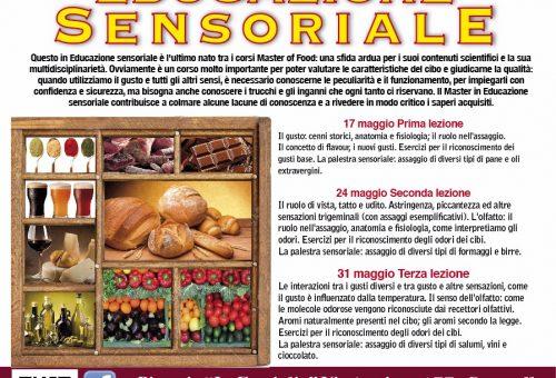 A Caserta il Master of Food Educazione Sensoriale