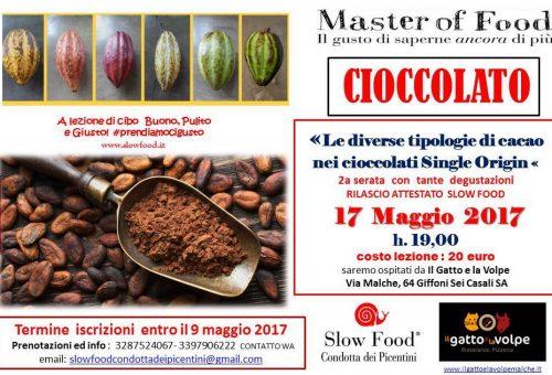Master of Food Cioccolato nei Picenti