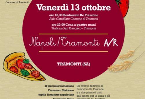 13 ottobre 2017 Napoli Tramonti A/R