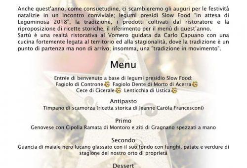 Cena degli Auguri a Napoli