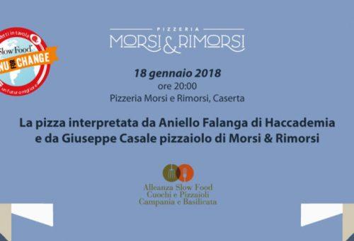 Da Morsi e Rimorsi la pizza di Aniello Falanga con Giuseppe Casale