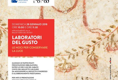 A Paestum per tutto il 2018 si festeggia l'anno del cibo con Slow Food Cilento