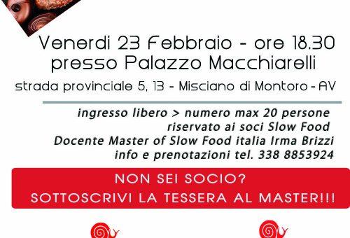 Master of Food gratuito sul Cioccolato al Palazzo Machiarelli di Montoro