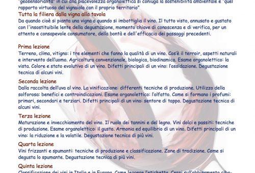 A Napoli inizia la stagione dei Master of Food: si parte dal vino