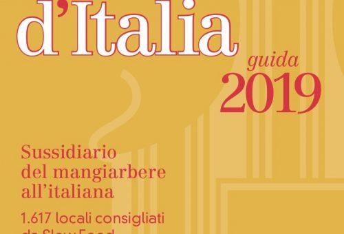 Chiocciole, Formaggi e Bottiglie  ecco tutti i riconoscimenti della guida Osterie d'Italia 2019 in Campania