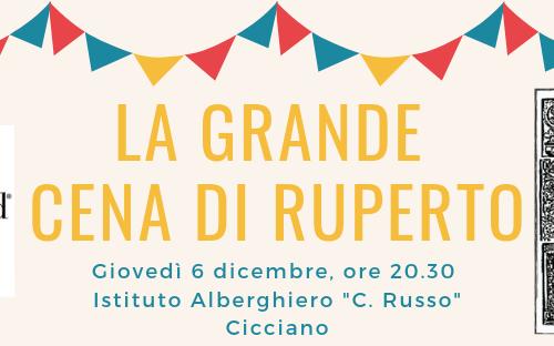 La grande cena di Ruperto 2018