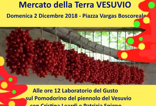 Mercato della Terra prenatalizio con Slow Food Vesuvio