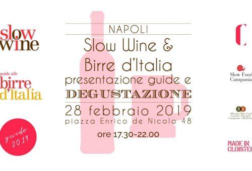 A Napoli la presentazione di Slow Wine e Guida alle Birre d'Italia