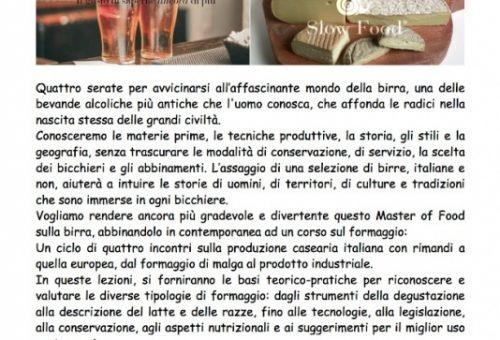 A Napoli il Master of Food Birra