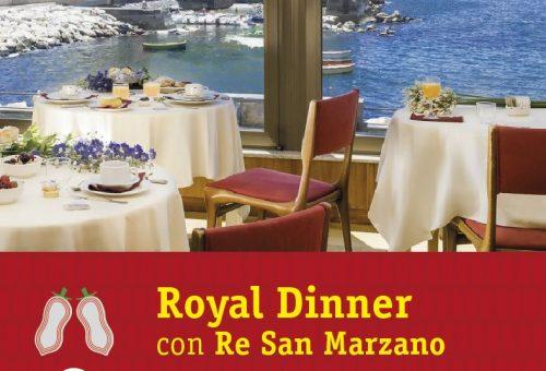 A cena con re san marzano