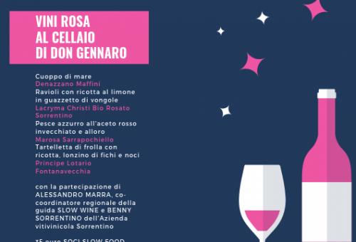 Vini rosa al Cellaio di Don Gennaro