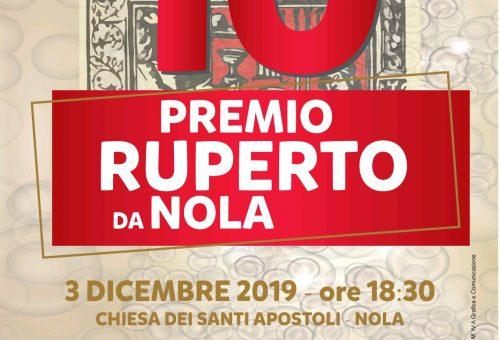 Premio Ruperto, il 3 dicembre a Nola la decima edizione