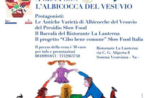 A Cena con l'Albicocca del Vesuvio