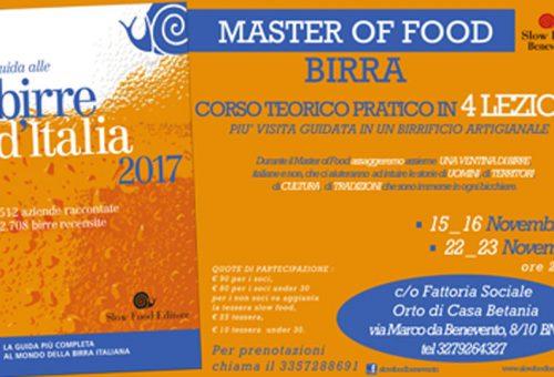 Master of Food Birra a Benevento