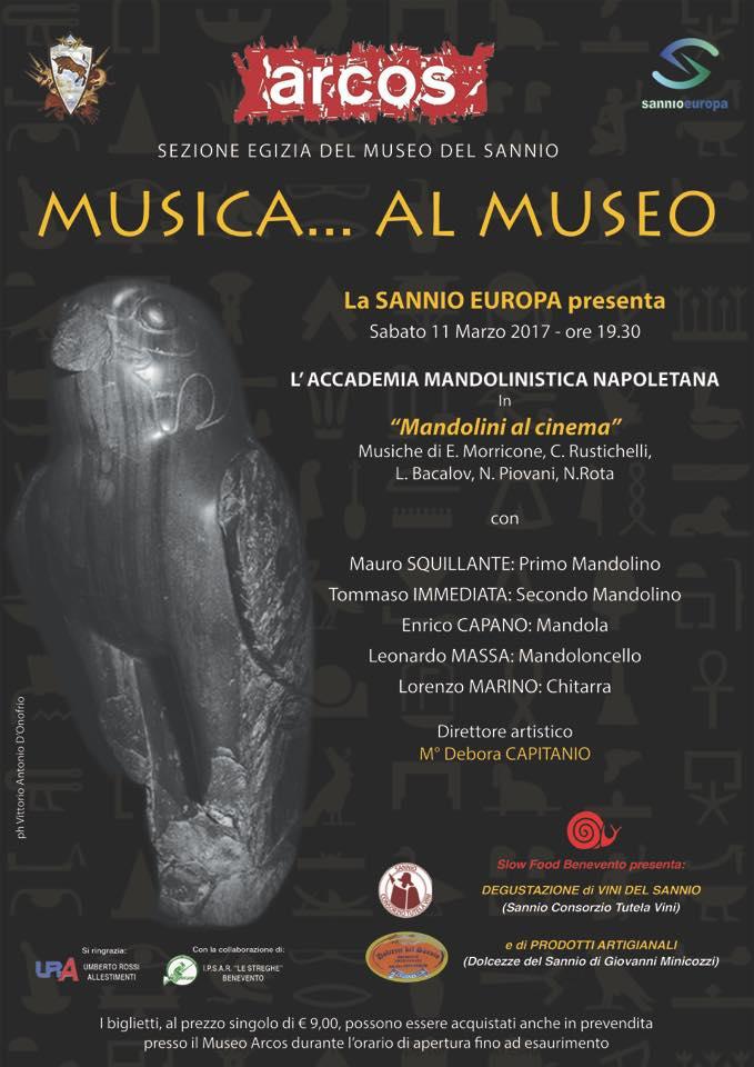 Musica... al Museo! Appuntamento con Slow Food Benevento