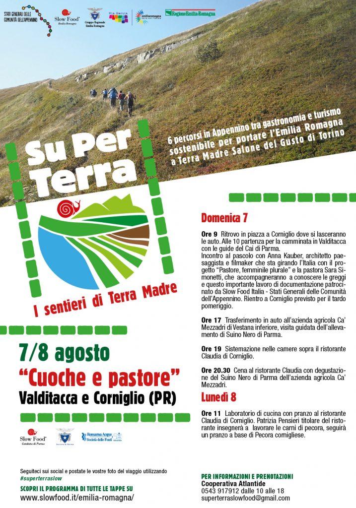 SU PER TERRA-LOCA-CORNIGLIO