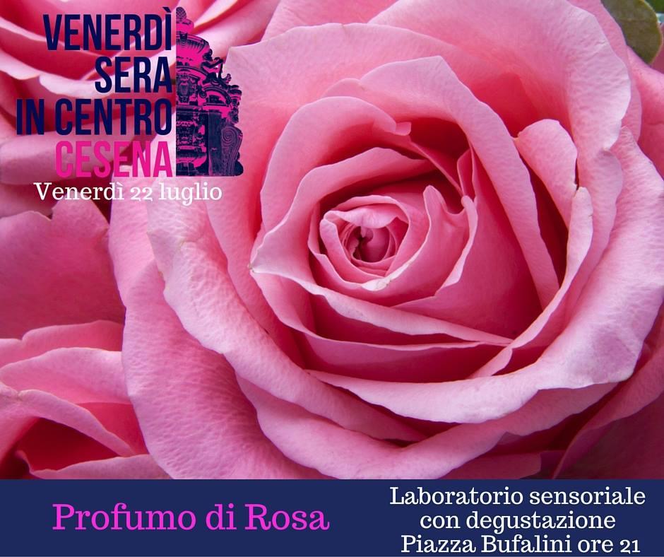 Slow Food - Cesena: profumo di rosa