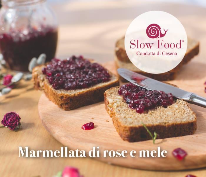 Slow Food  Cesena: marmellata di rose