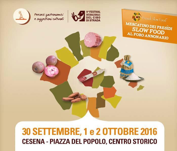 Slow Food - Cesena : a fine settembre torna il Festival del cibo di strada