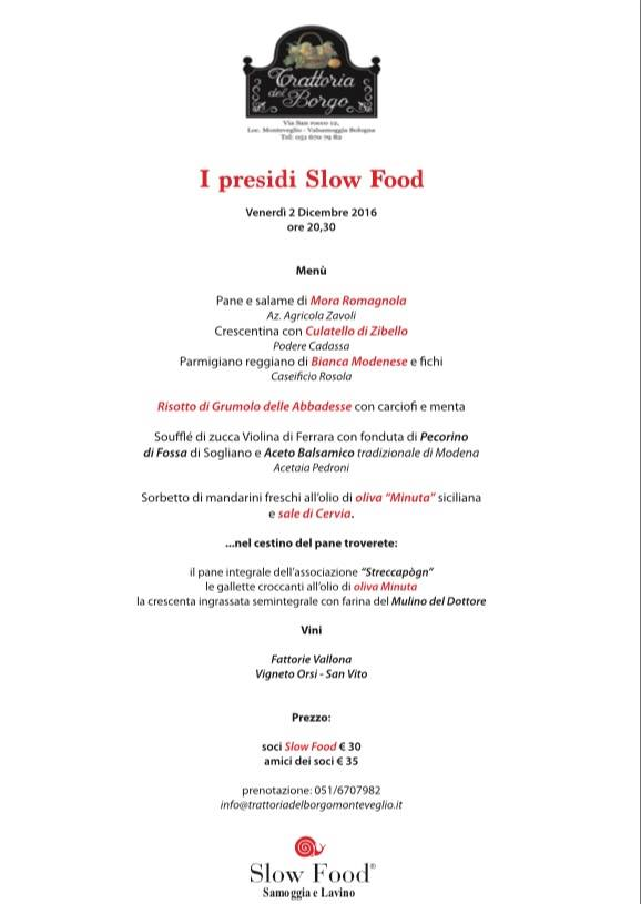 Slow Food Samoggia e Lavino alla scoperta dei Presìdi SF