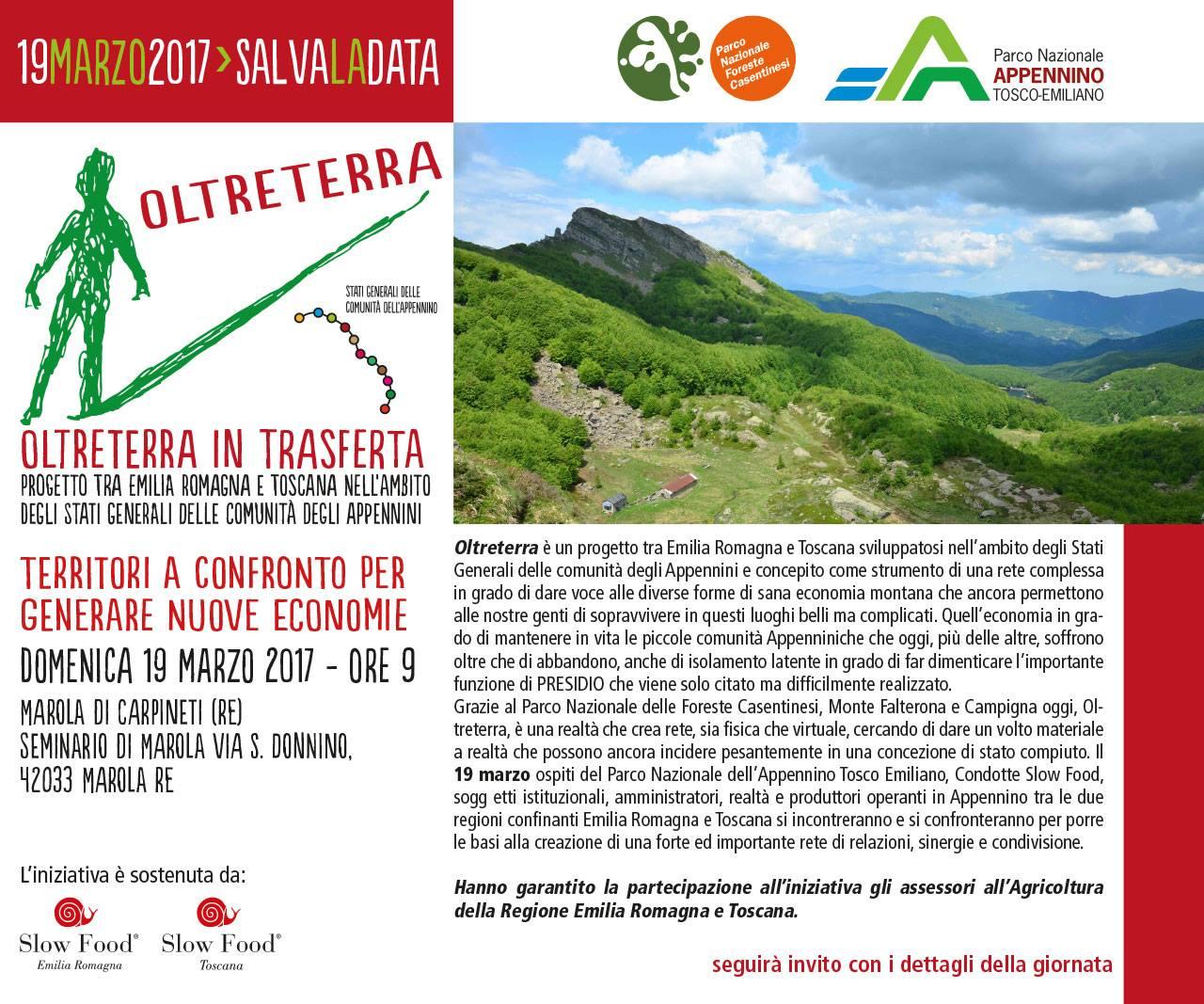 Slow Food Emilia Romagna : parliamo ancora di Appennino