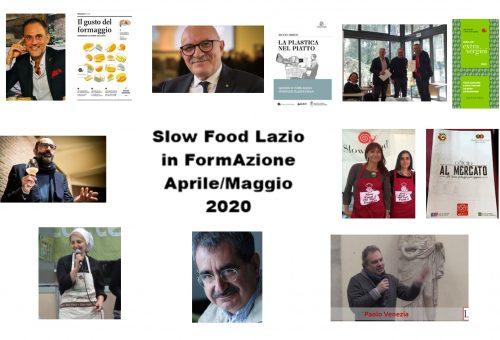 Nuovi incontri di formazione gratuita di Slow Food Lazio