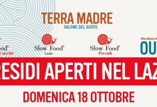 Il 18 ottobre nel Lazio c'è Presìdi Aperti!