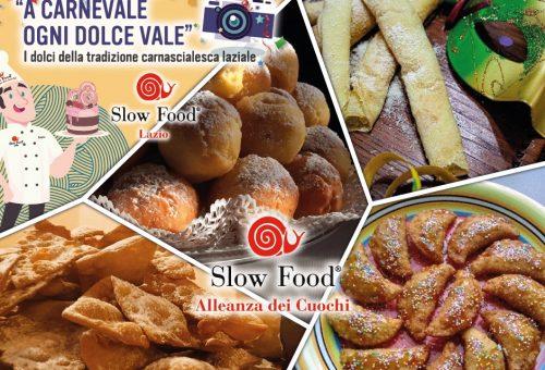 """""""A carnevale ogni dolce vale"""" I dolci della tradizione carnascialesca laziale"""