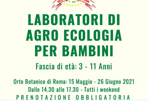 """All'Orto Botanico di Roma  c'è """"Slow Farmer Labs"""""""