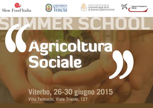 Summer School agricoltura sociale