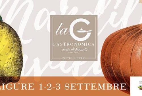 La tradizione con Gastronomica a Pietra Ligure 1-2-3 Settembre 2017