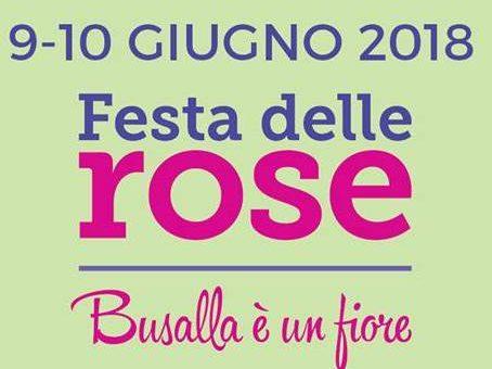 Feste delle Rose : Busalla è in fiore- 8-9-10 Giugno