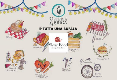 E' tutta una Bufala all'Osteria La Briga Le Manie FinaleL.