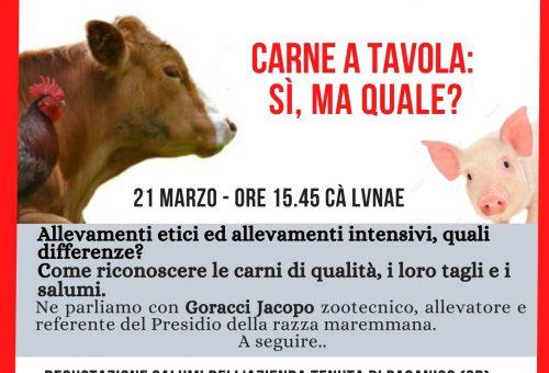 A Cà Lunae Carne a Tavola:si ma quale?