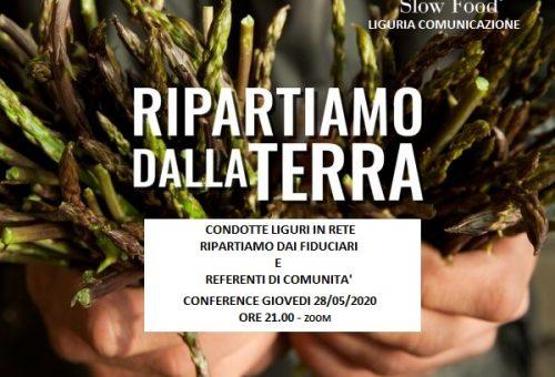 Ripartiamo dai Fiduciari e dai Referenti di Comunità di Liguria