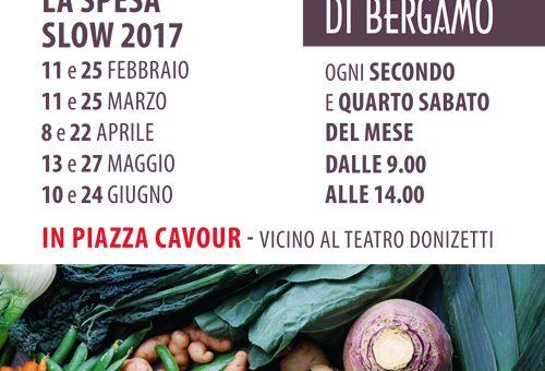 Al Mercato della Terra di Bergamo sabato 25 febbraio Speciale Dolci di Carnevale