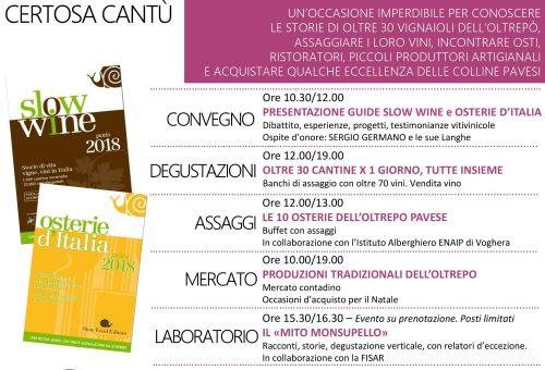 Slow Wine a Casteggio – 17 dicembre