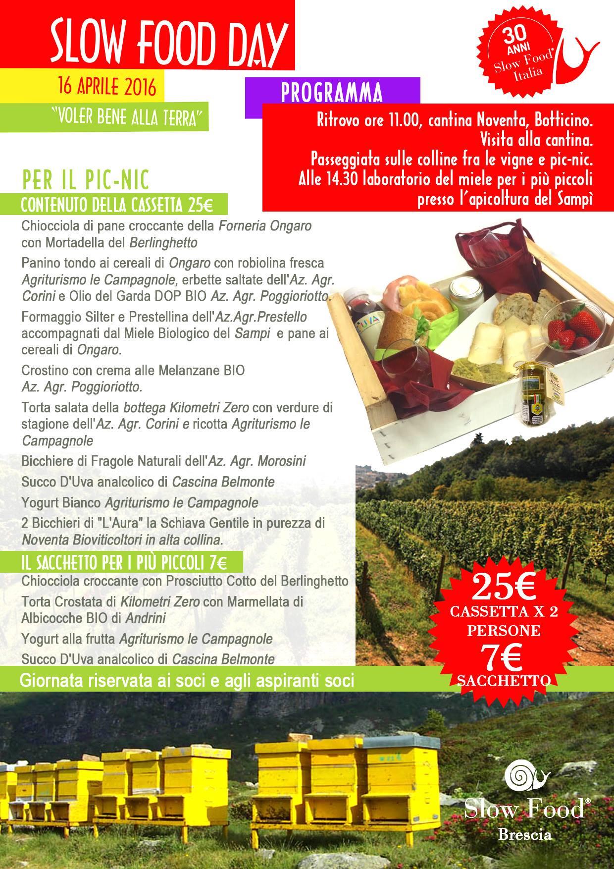 Slow Food Day Brescia