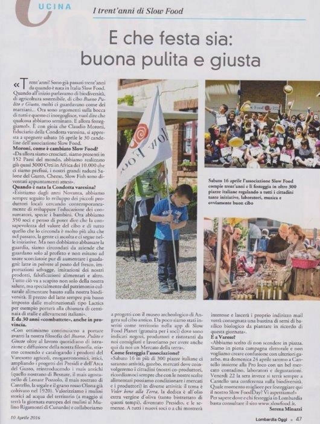 Slow Food Day Provincia di Varese