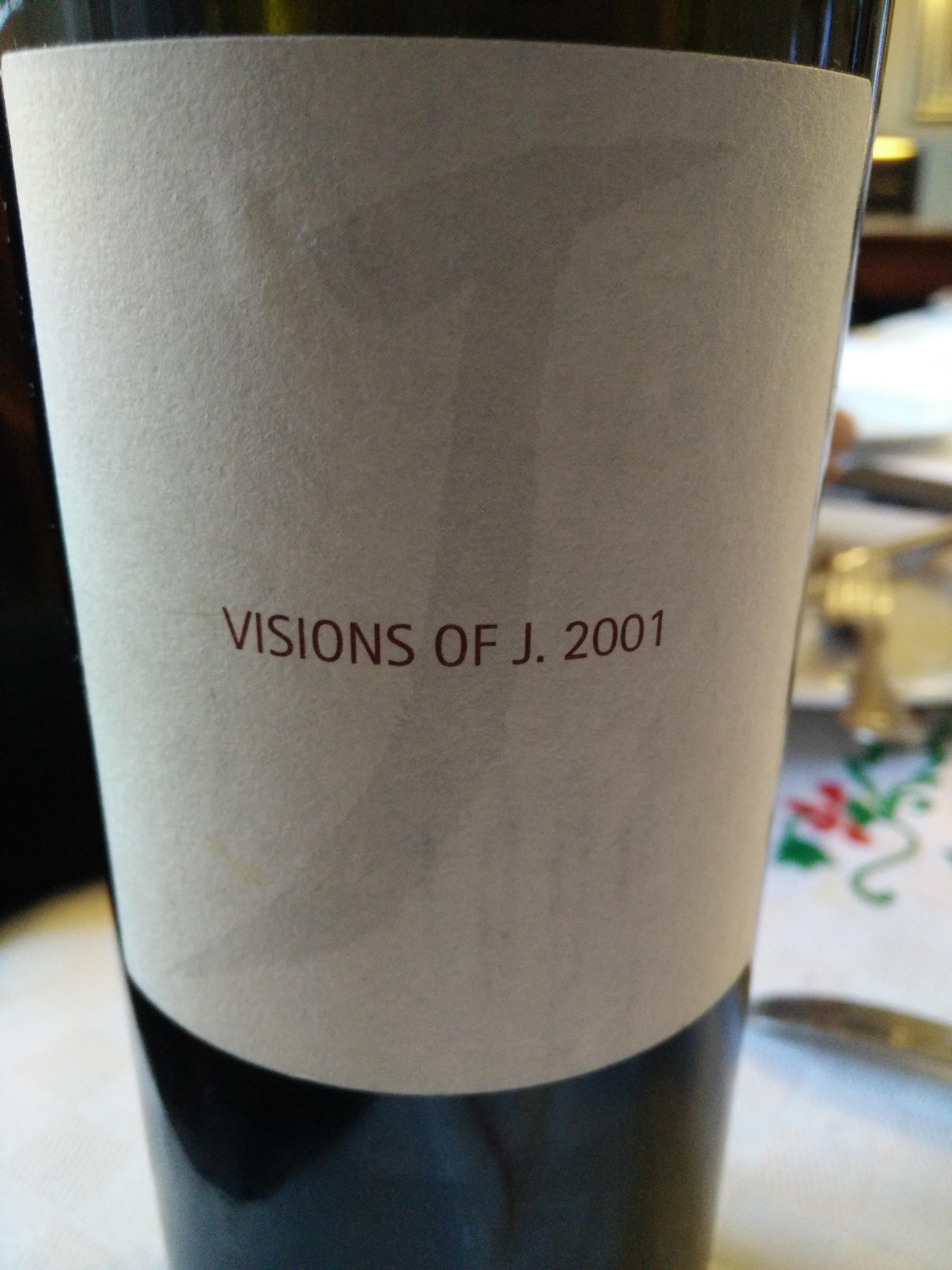 Rosso Conero Vision of J 2001, Fattoria Le Terrazze - Slowine