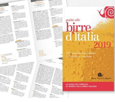 Risultati immagini per birre d'italia 2019 slow food