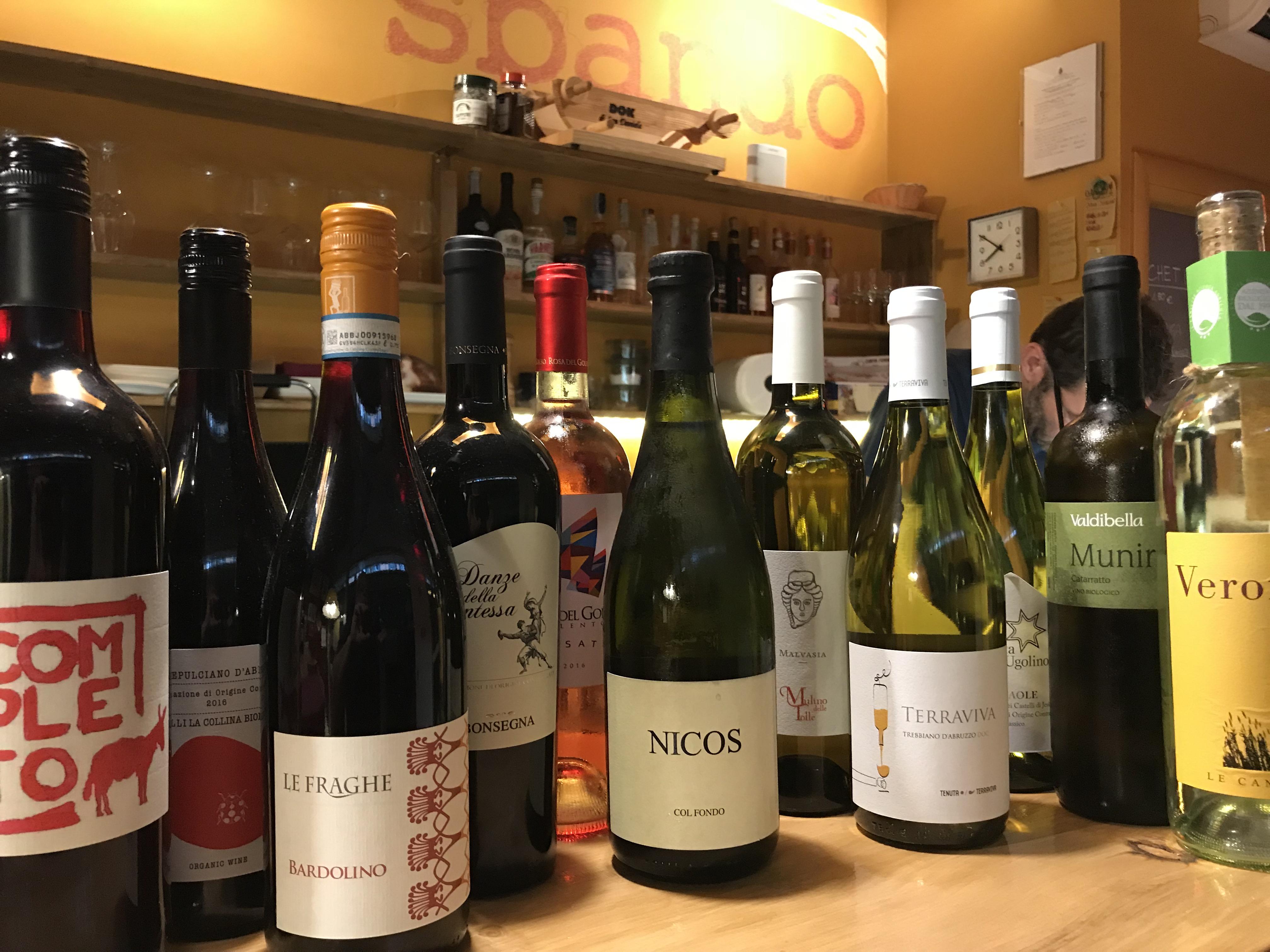 Attenzione: il vino a 3 euro al bicchiere piace tantissimo!