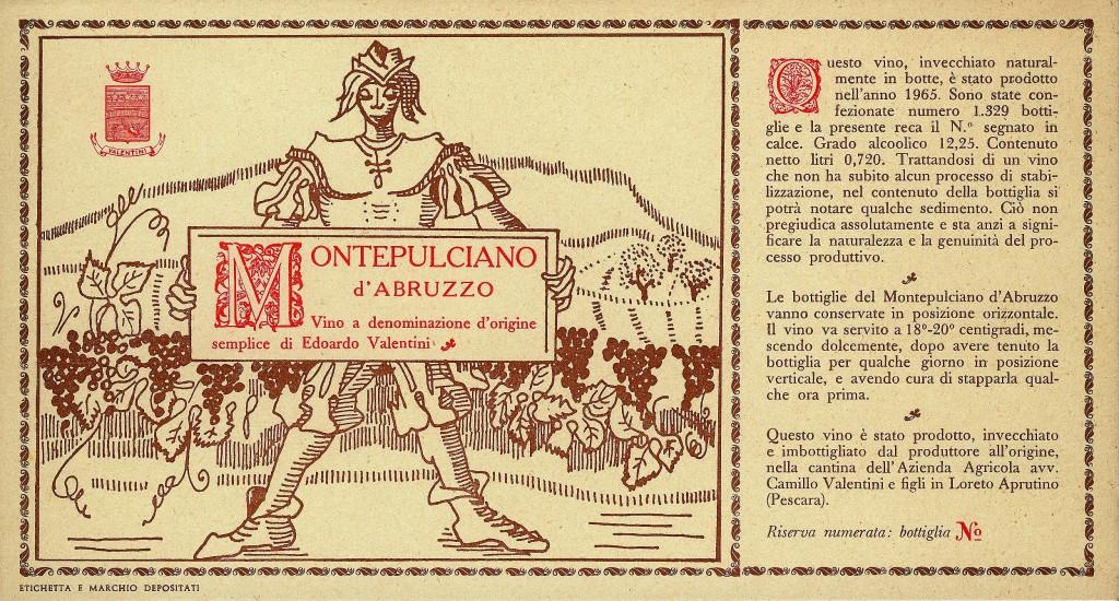 Valentini Montepulciano '65