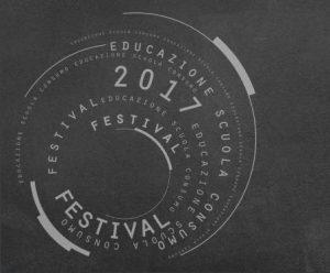 Educazione, scuola, consumo. logo del festival, Livorno giugno 2017