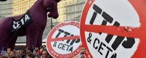 manifestazione stop TTIP Ceta