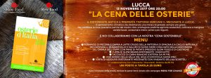 Menu for change - Lucca
