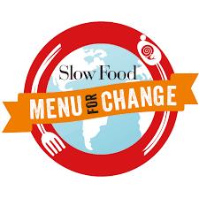 Menù for change - logo della campagna