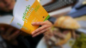 Presentazione guida osterie d'Italia - copertina