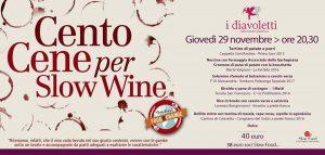 Cento cene per slow wine - I Diavoletti Lucca
