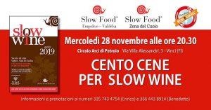 Cento cene per slow wine - Vinci